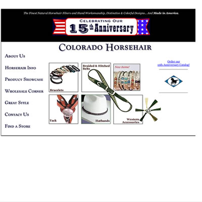 Colorado Horsehair web site